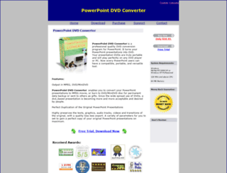 powerpoint-dvd-converter.com screenshot