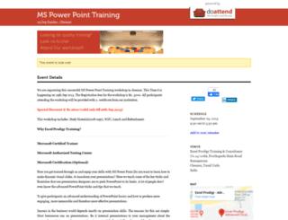 powerpoint-training1.doattend.com screenshot