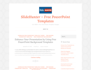 powerpointdesigns.wordpress.com screenshot