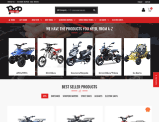 powerrideoutlet.com screenshot