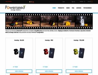 powerseed.net screenshot