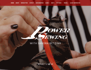 powersewing.com screenshot