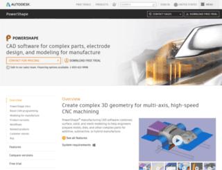 powershape-e.com screenshot
