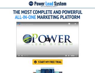 powersleadsystem.com screenshot