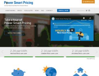 powersmartpricing.com screenshot