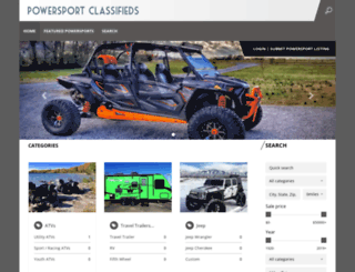 powersportclassifieds.com screenshot