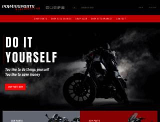 powersportswarehouse.com screenshot