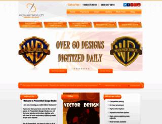 powerstitch.com screenshot