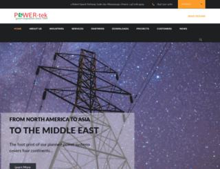 powertek-usa.com screenshot