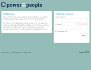 powertothepeoplecommunity.com.au screenshot