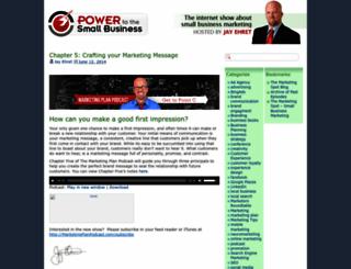 powertothesmallbusiness.com screenshot