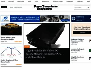 powertransmission.com screenshot