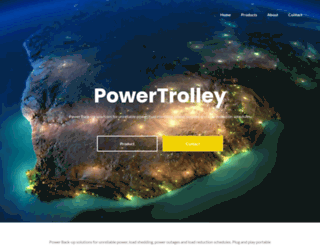 powertrolley.co.za screenshot