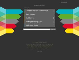 powervps.com screenshot