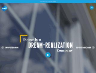 powerwindowsandsiding.com screenshot
