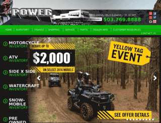 poweryamaha.com screenshot