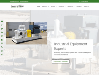 powerzoneequipment.com screenshot