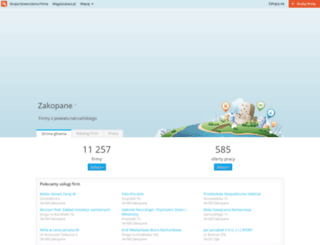 powiat-tatrzanski.nf.pl screenshot