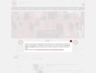 powiat.kalisz.pl screenshot