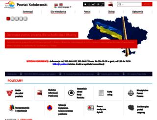 powiat.kolobrzeg.pl screenshot