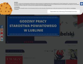 powiat.lublin.pl screenshot