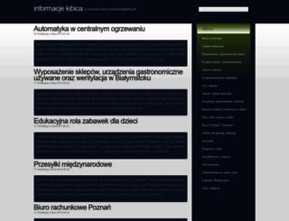 powiatowykibic.pl screenshot