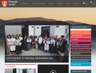 powiatsuski.pl screenshot