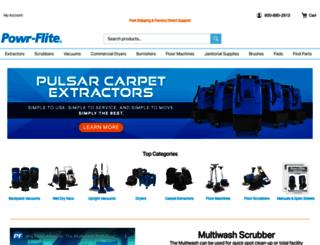powr-flite.com screenshot