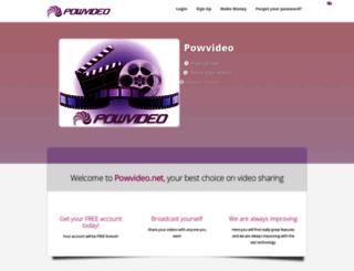 powvideo.net screenshot