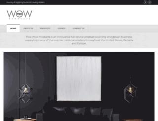powwowproducts.us screenshot