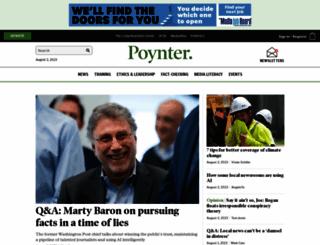 poynter.org screenshot