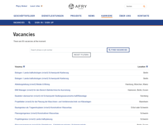poyry.kandidatenportal.eu screenshot
