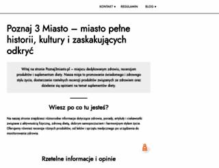 poznaj3miasto.pl screenshot