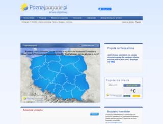 poznajpogode.pl screenshot