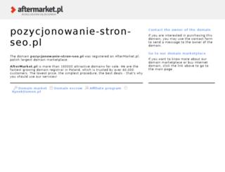 pozycjonowanie-stron-seo.pl screenshot
