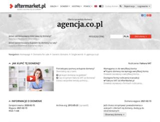 pozycjonowanie.agencja.co.pl screenshot