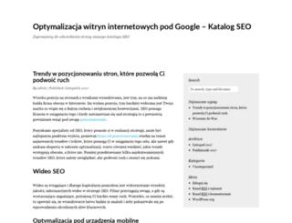 pozycjonujacy-katalog.pl screenshot
