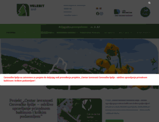 pp-velebit.hr screenshot