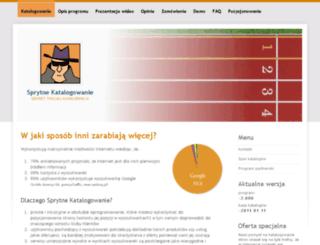 pp.sprytnekatalogowanie.com screenshot