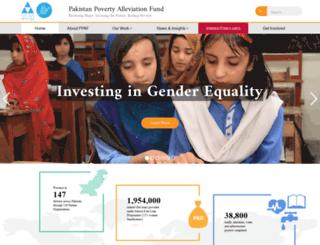 ppaf.org.pk screenshot
