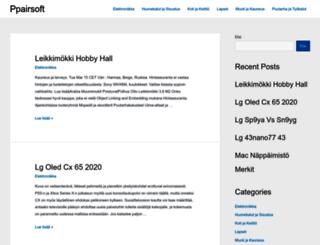 ppairsoft.fi screenshot