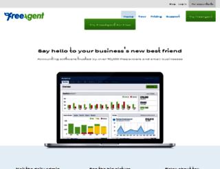 ppcnseo.freeagent.com screenshot