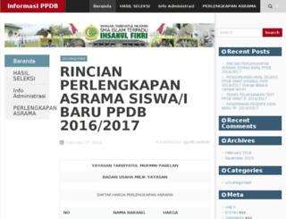 ppdb.smait-ihsanulfikri.sch.id screenshot