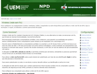ppe.uem.br screenshot