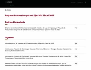 ppef.hacienda.gob.mx screenshot