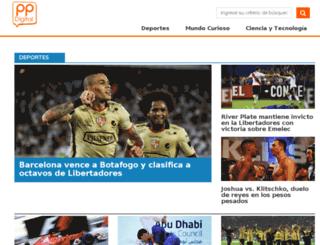 ppelverdadero.com.ec screenshot