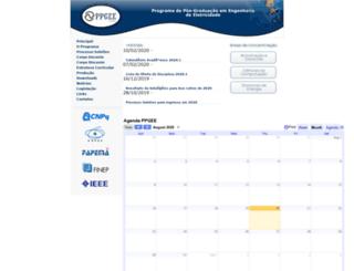 ppgee.ufma.br screenshot