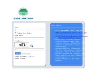 ppob.bukopin.co.id screenshot