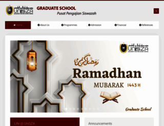 pps.unisza.edu.my screenshot