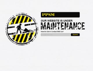 ppsmonline.com screenshot